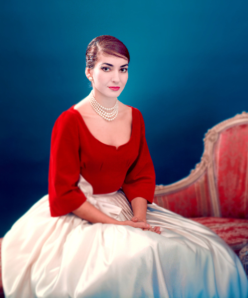 Maria Callas - Photo : Fonds de dotation Maria Callas