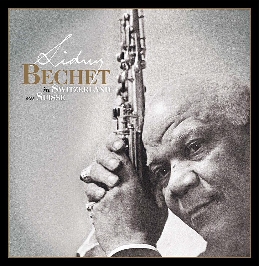 Cover artwork of the boxed set Sidney Bechet in Switzerland